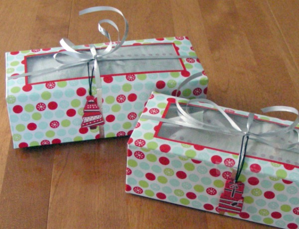 Packaged Cookies for Holiday Cookie Exchange