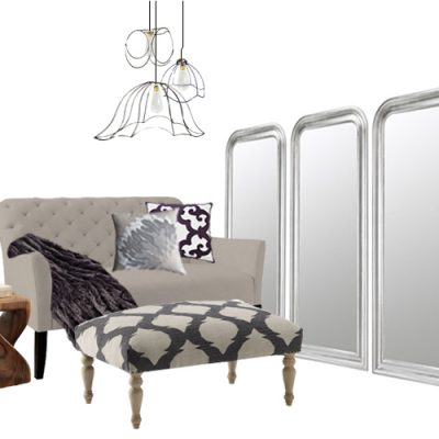 Designer Challenge: Which Settee? Master Bedroom Sitting Area by Teal and Lime