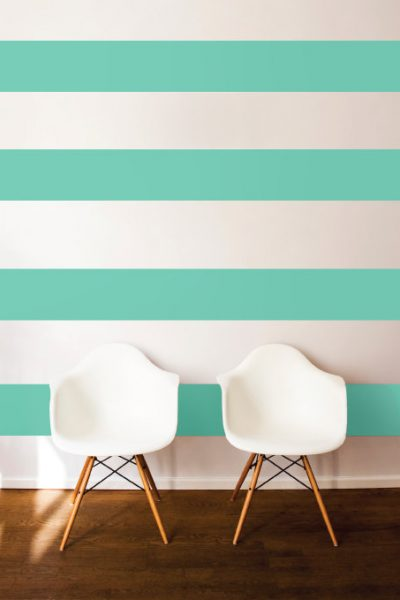 Adding Horizontal Stripes to Your Wall - Dana Decals on Etsy
