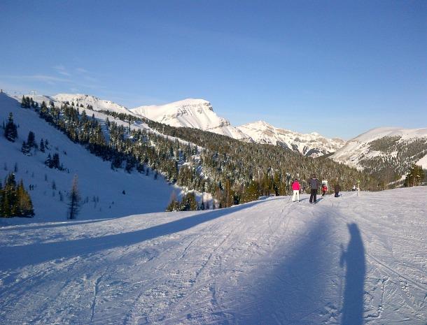 Skiing Rocky Mountains