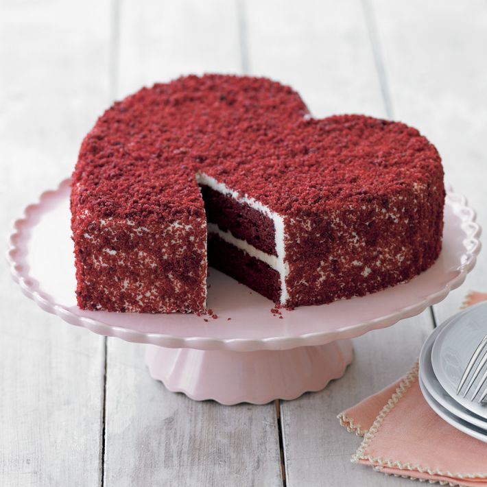 Valentine's Day Gift Ideas - Heart Cake from Williams Sonoma