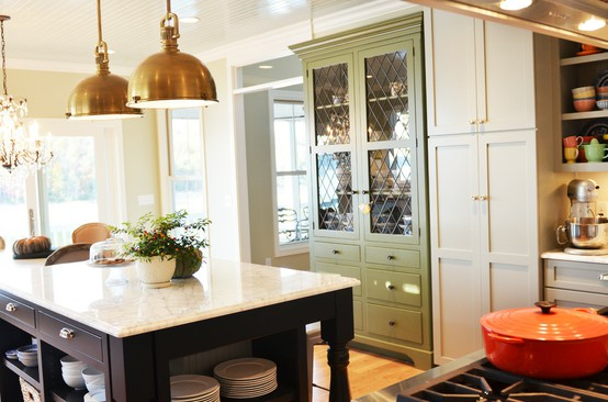 Elements of My Dream Kitchen- Pendants over Island by Life in Grace