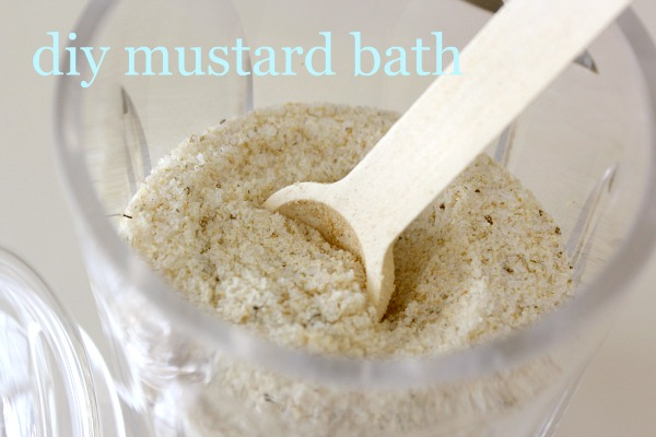 DIY Mustard Bath Recipe - Homemade Mustard Bath Soak