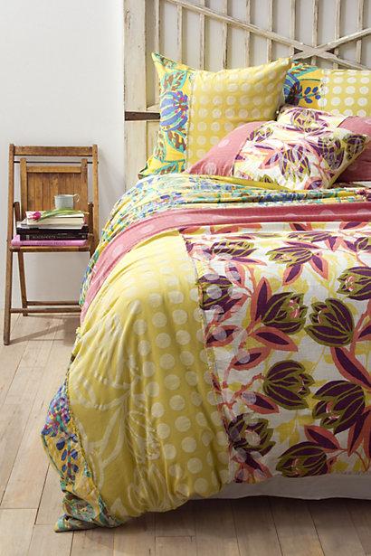 Orlina Floral Bedding- Anthropologie