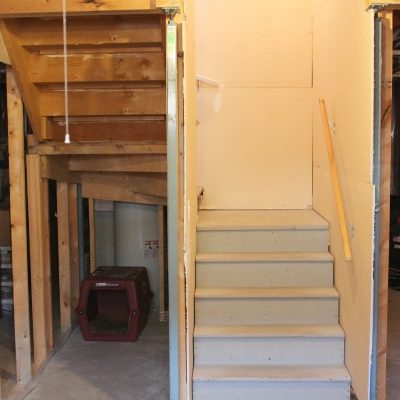 Pre-renovation Basement Photo - Under the Stairwell - Future Snack Bar or Dry Bar