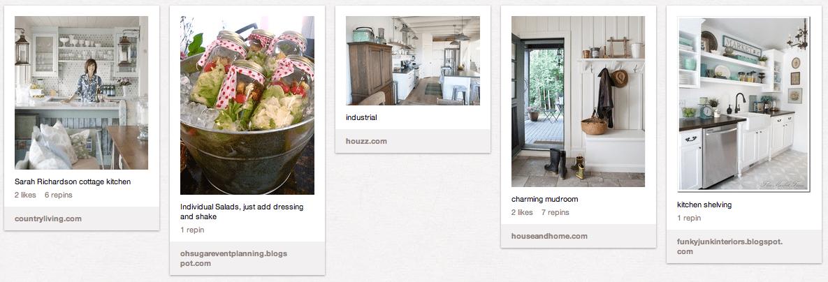 Ideas for the Cottage - Pinterest Board - Satori Design for Living