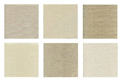 Fabric options for a sectional sofa from Stylus