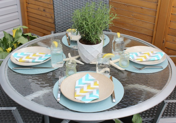 How to Create a Tablescape for Casual Summer Entertaining - Satori Design for Living