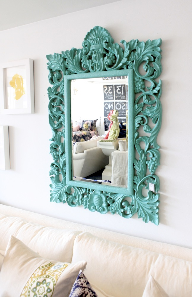 Tiffany Blue Mirror - photo by Kyle Knight