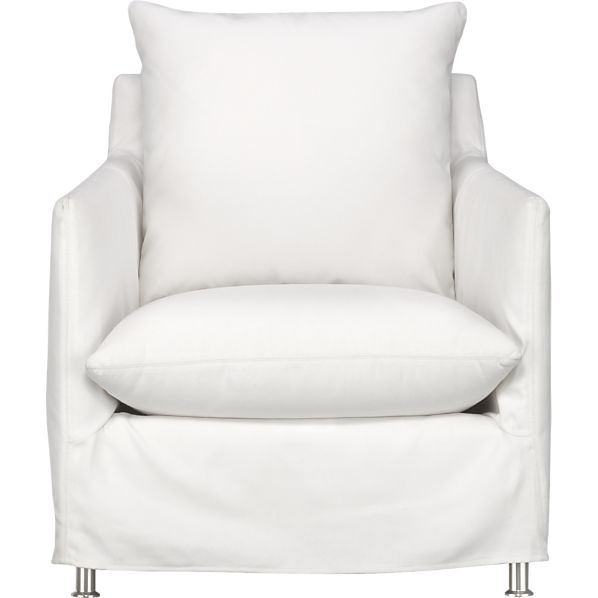 Catalina Lounge Chair via Crate and Barrel