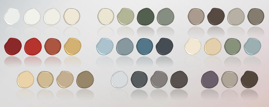 Pottery Barn Benjamin Moore Paint Collection Fall