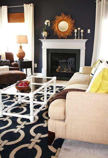 Emily A. Clark's Living Room Paint Color- Stunning by Benjamin Moore - Bloggers' Favorite Paint Colors Series