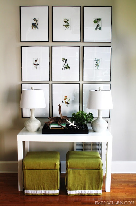 Emily A. Clark's Hallway Paint Color- Sherwin Williams Worldly Gray - Bloggers' Favorite Paint Colors Series
