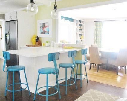 Young House Love Kitchen Paint Color- Benjamin Moore Sesame - Bloggers' Favorite Paint Colors Series