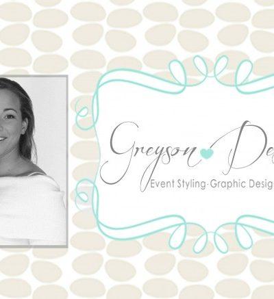 Greyson Design - Event Styling - Graphic Design