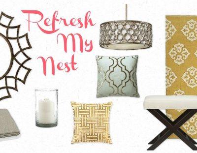 Refresh My Nest Mood Board - Satori Design for Living