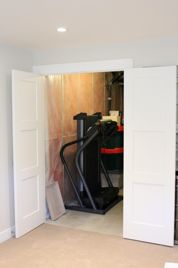 Using Double Shaker Style Doors for Storage Rooms | Satori Design for Living