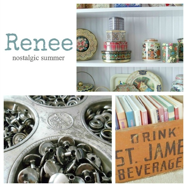 Renee's Inspiring Workspace - Nostalgic Summer Vintage Jewelry Studio