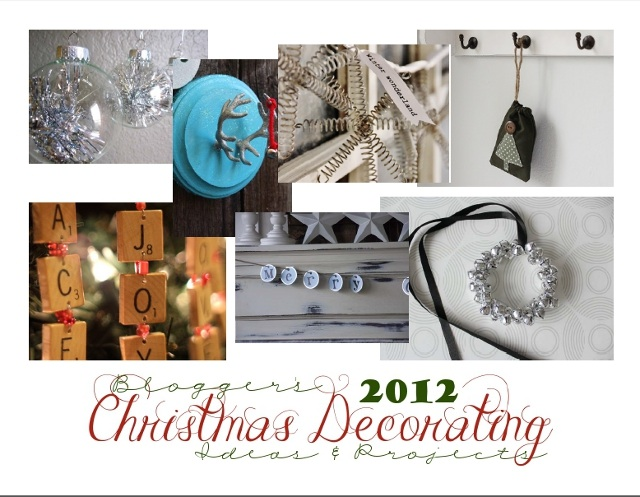 Bloggers' Christmas Decorating Ideas & Projects E-book- Download for Free!