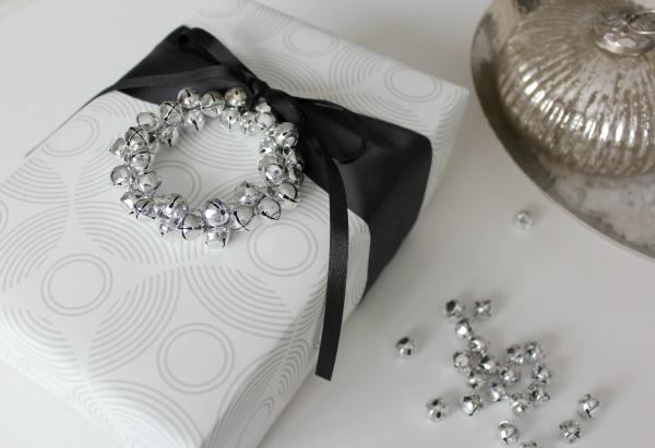 Jingle Bell Wreath Gift Embellishment for Christmas - Satori Design for Living