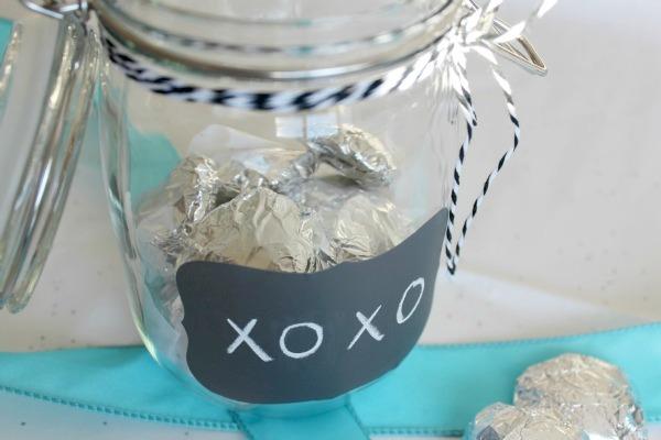 Handmade Gift- Memory Candy Jar