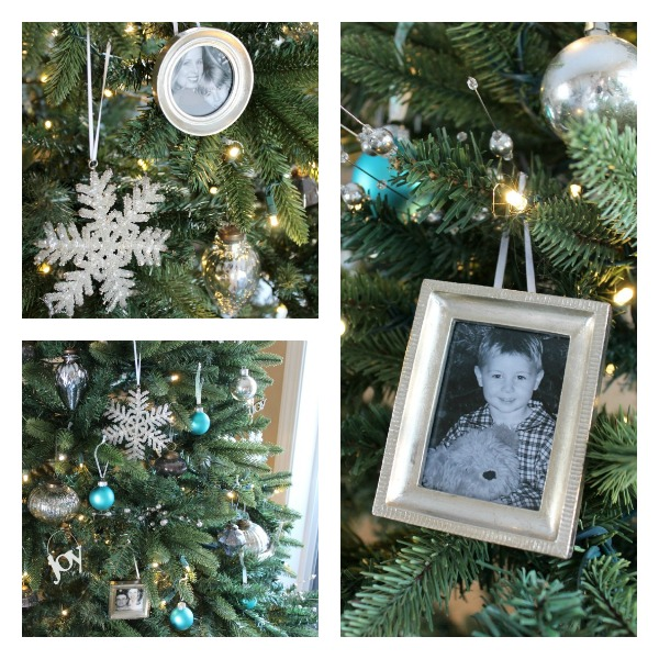 Silver, White and Turquoise Christmas Tree - Satori Design for Living