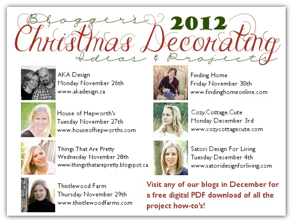 Bloggers' Christmas Decorating Ideas and Projects