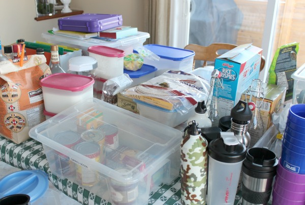 Cleaning and Organizing the Pantry