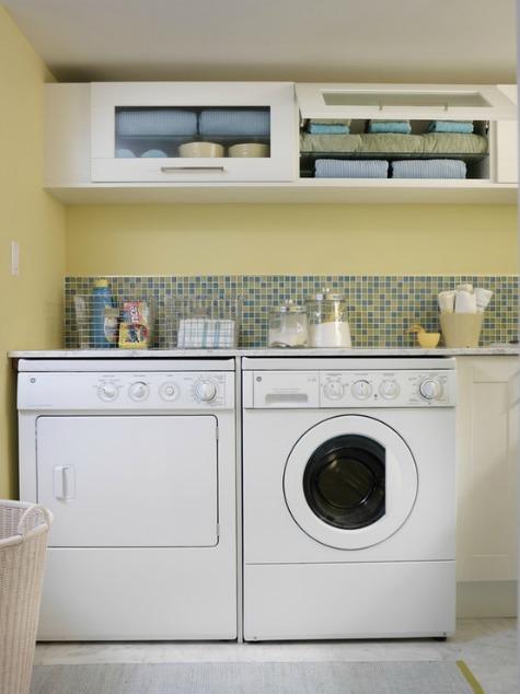 Sarah Richardson Laundry Room - HGTV