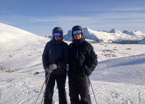 Skiing Sunshine