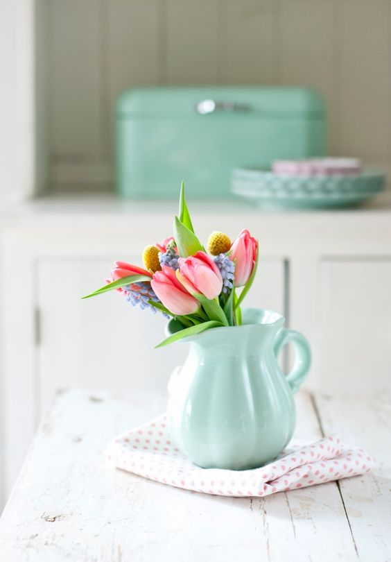 Spring Blooms by Minty House