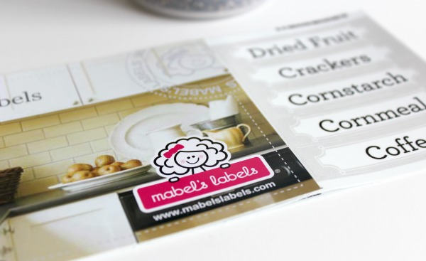 Organizing the Kitchen - Household Labels by Mabel's Labels
