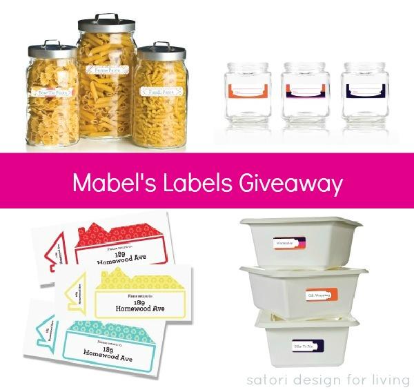 Mabel's Labels Giveaway on Satori Design for Living