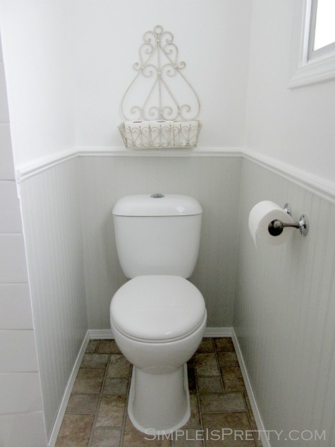 Bathroom Cleaning Tip - Bath Stone for Cleaning Tough Spots or Stains on Toilets