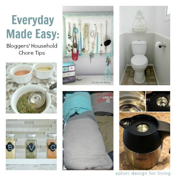 Household Chore Tips to Make Everyday Tasks Easier