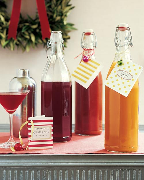 Apricot and Cranberry Drink Mixer Recipes - Martha Stewart