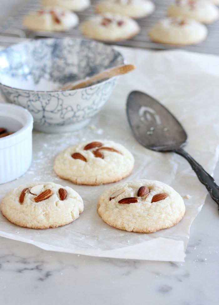 Baking Gluten Free Greek Almond Cookies