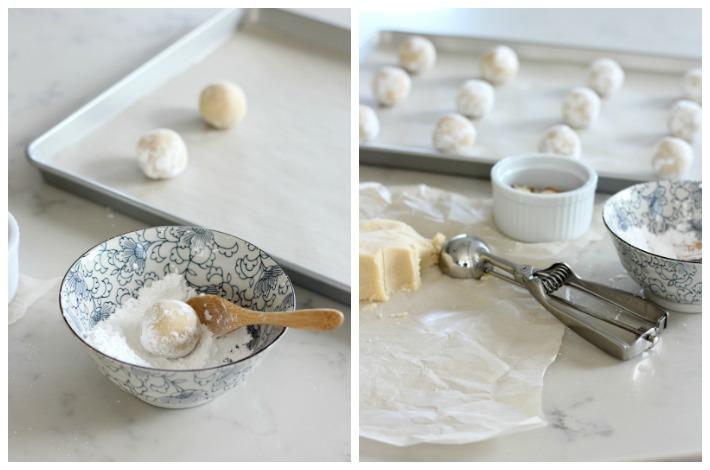 Baking Gluten Free Greek Almond Biscuits