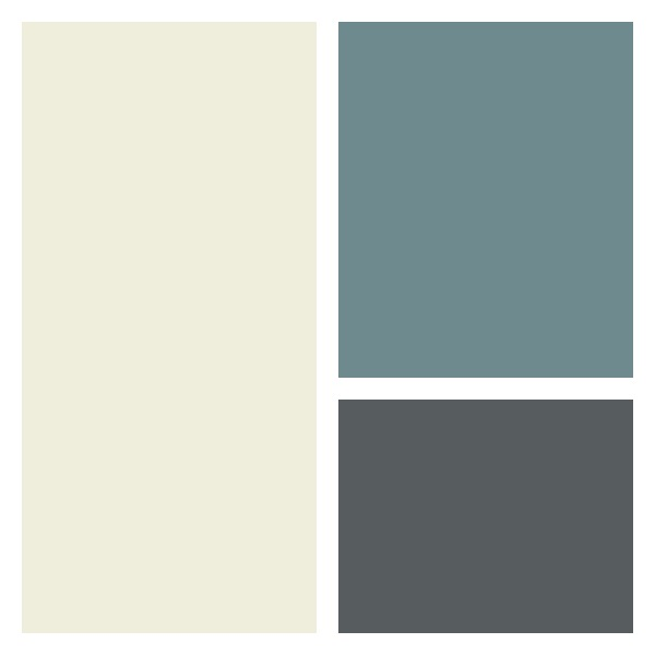 Tips for Adding Curb Appeal - New Front Door Paint Color Option 1- Benjamin Moore Flint (AF-560)