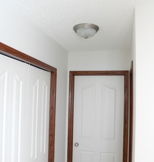 Entryway Lighting BEFORE