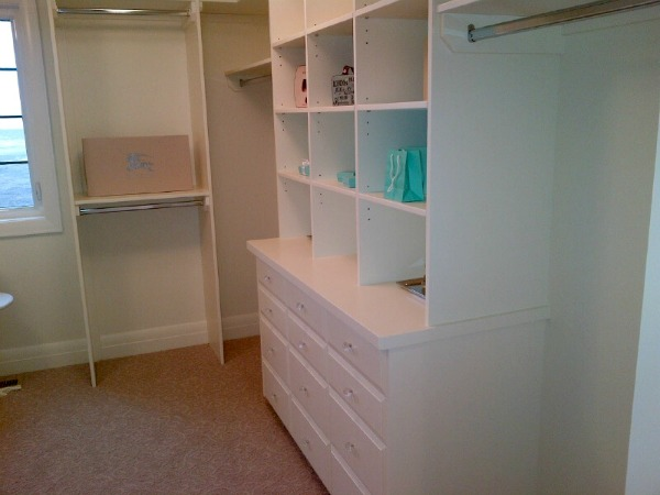 Showhome Tour - Dressing Room With White Built-ins