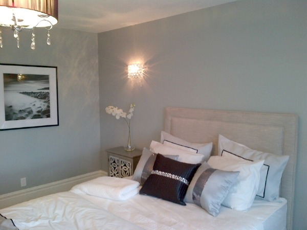 Showhome Tour - Blue-grey Master Bedroom