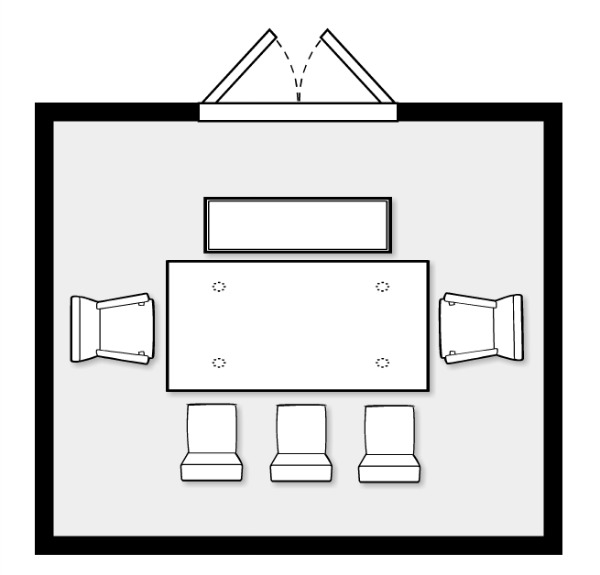 Design Project - Dining Room Furniture Space Plan for Open Concept - Satori Design for Living