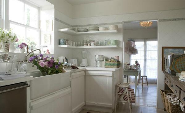 Shabby Chic Kitchen by Rachel Ashwell