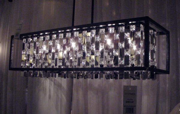 DVI Amethyst Light Fixture for Lobby