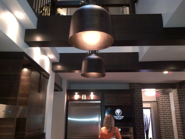 Calgary Hospital Home Lottery Kitchen - Oversized Bronze Pendants