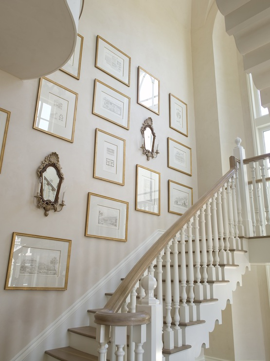 Staircase Wall Art French Style - Phoebe Howard