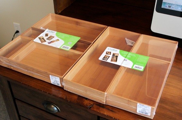 Office Organization Project - Bamboo Drawer Organizers