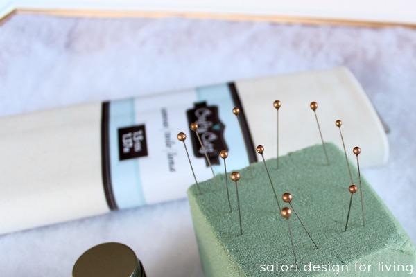DIY Gold Dipped Pins - Satori Design for Living