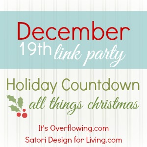 December All Things Christmas Link Party